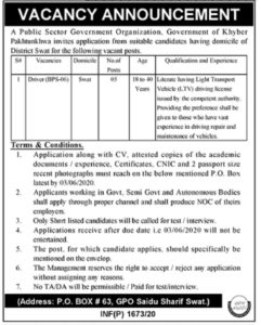 Public Sector Government Organization Drivers Jobs Advertisement